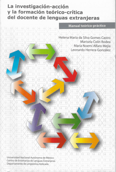 Cubierta para La investigación-acción y la formación teórico-crítica del docente de lenguas extranjeras: Manual teórico-práctico