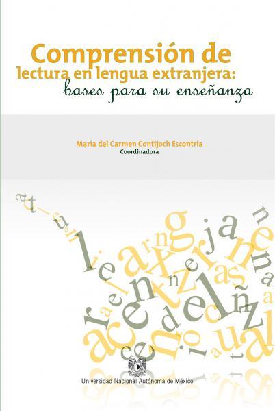 Cubierta para Comprensión de lectura en lengua extranjera: bases para su enseñanza