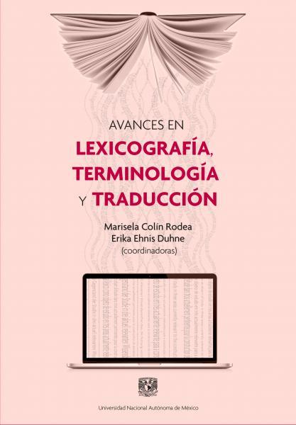 Cubierta para Avances en lexicografía, terminología y traducción