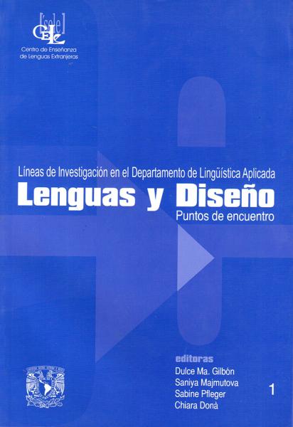 Cubierta para Lenguas y diseño, puntos de encuentro