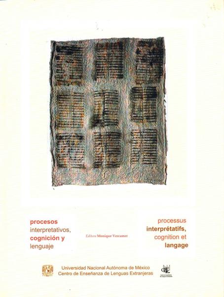 Cubierta para Procesos interpretativos, cognición y lenguaje