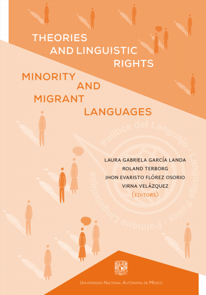 Cubierta para Theories and linguistic rights, minority and migrant languages